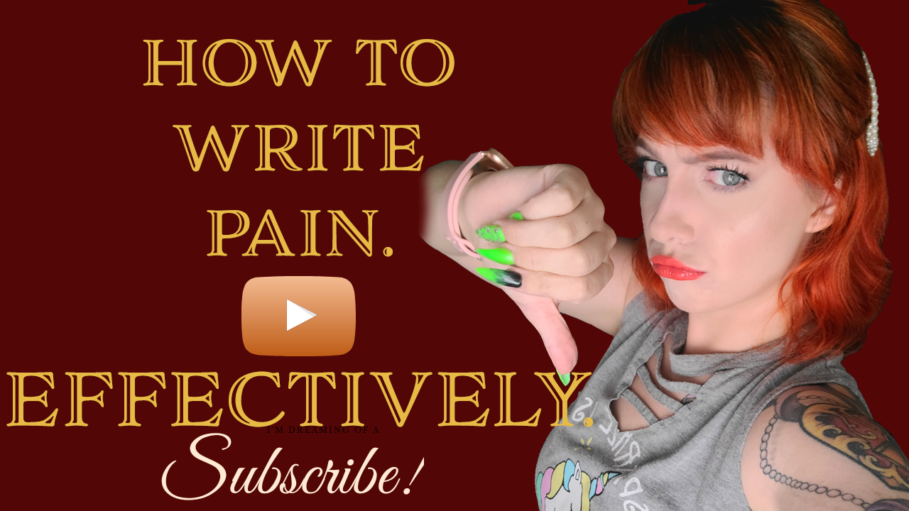 How to write pain youtube video