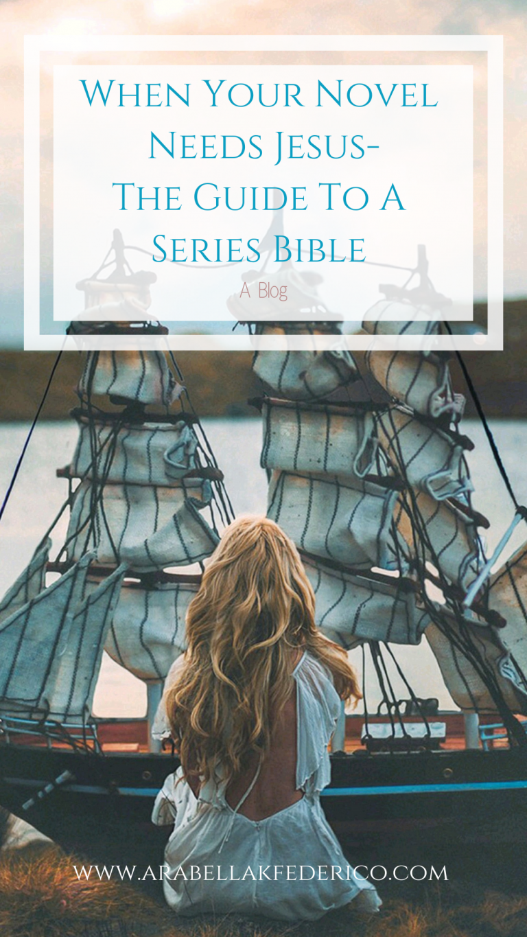 Your Novel Needs Jesus-A Series Bible