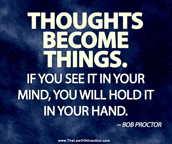 Your thoughts determine how and if you'll be published
