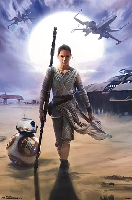 Rey Star Wars Protagonist
