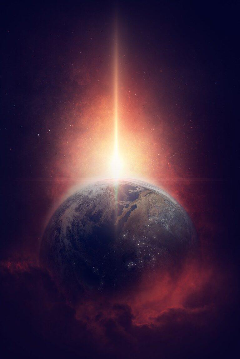 universe, earth, planet